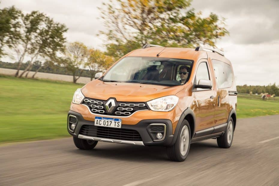 Así es el nuevo Renault Kangoo Combi para América Latina