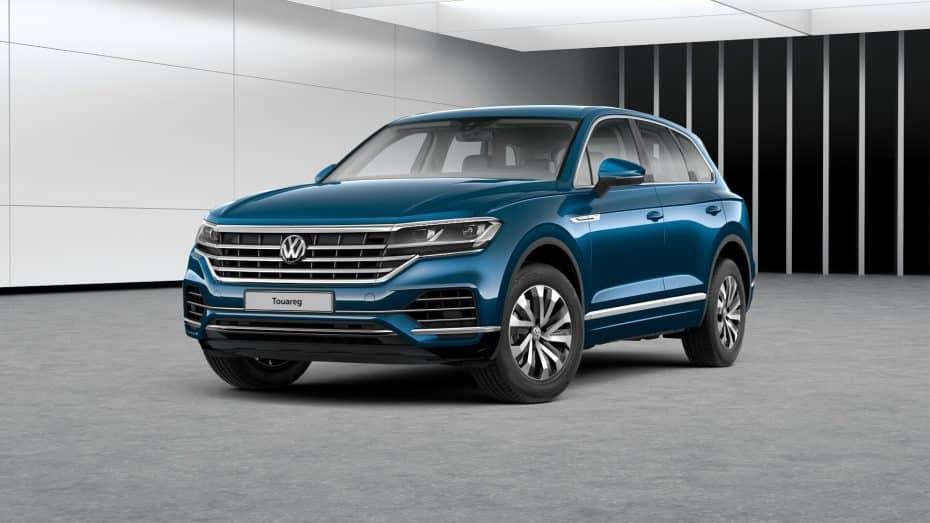 El nuevo Volkswagen Touareg recibe la versión de acceso