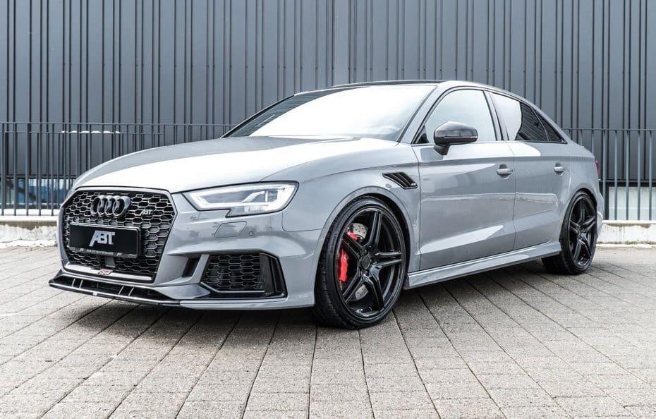 ABT vuelve a hacer su magia y ha convertido el Audi RS3 Sedán en una máquina de 500 CV