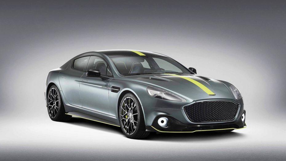 Aston Martin Rapide AMR: Una suculenta edición especial con sabor a despedida