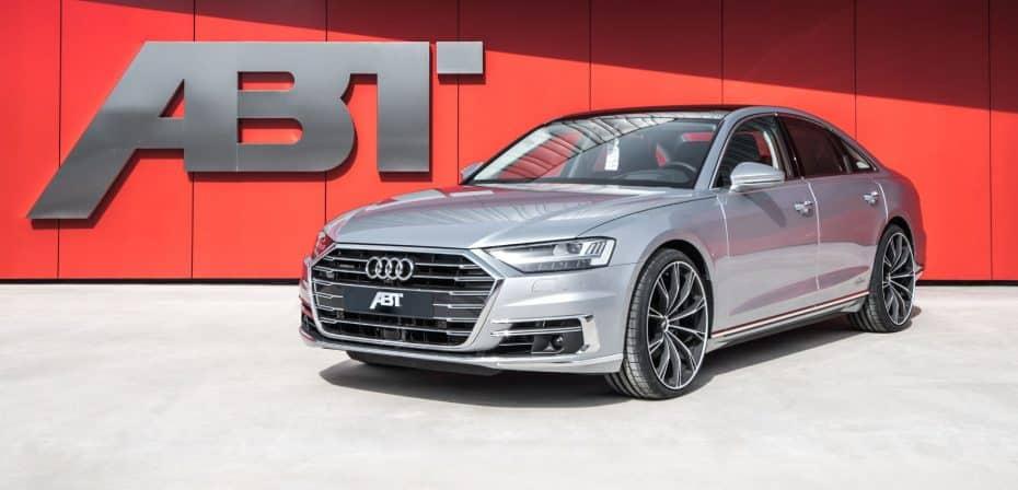 Así es el Audi A8 de ABT Sportsline: Retoque sutiles y más potencia