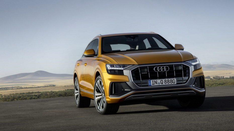 ¡Filtrado! El Audi Q8 de producción se deja ver antes de tiempo: Realmente fiel a los prototipos