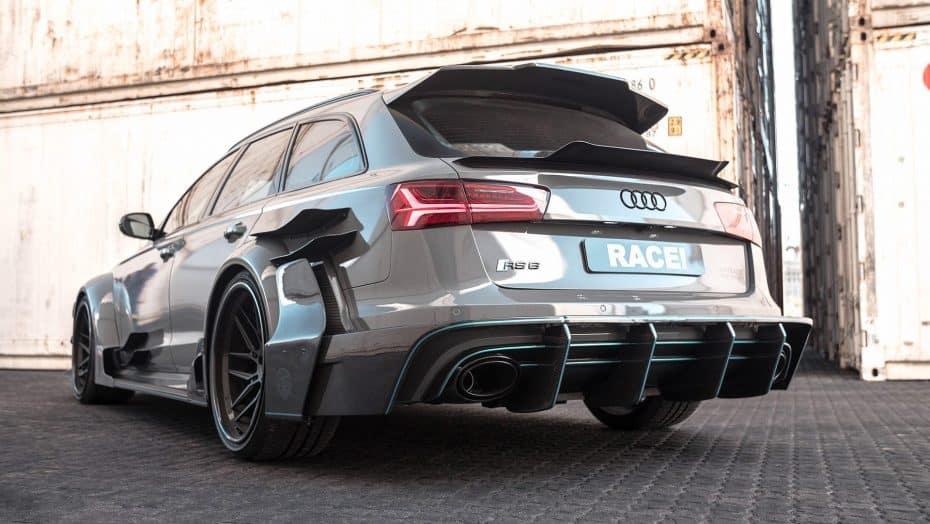 El Audi RS6 más salvaje ha llegado, una creación de Race! que se inspira en el DTM