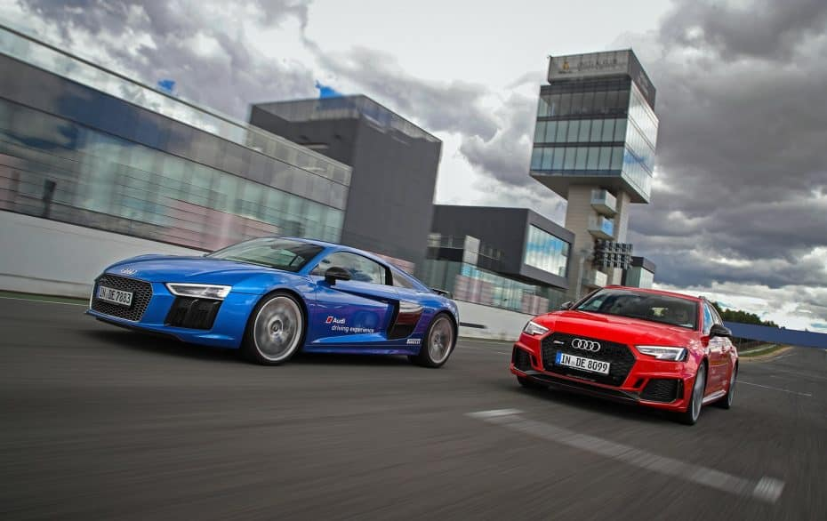 ¿Sabías que puedes ponerte a los mandos de la gama más potente de Audi en circuito sin ser cliente?