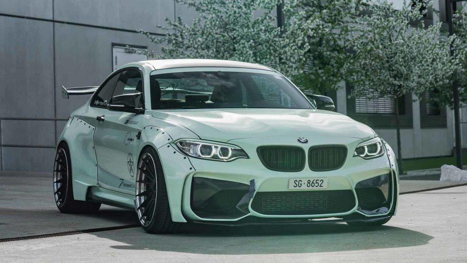 Z-Performance ha vestido el BMW M2 con un nuevo kit de carrocería ¿No es salvaje?