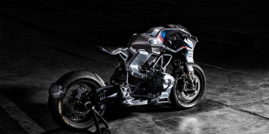 Bernhard Naumann ha transformado la BMW R NineT en una espectacular moto futurista