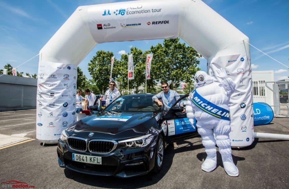 """Así vivimos el ALD Ecomotion Tour 2018 en los asientos """"business"""" del BMW 520d"""