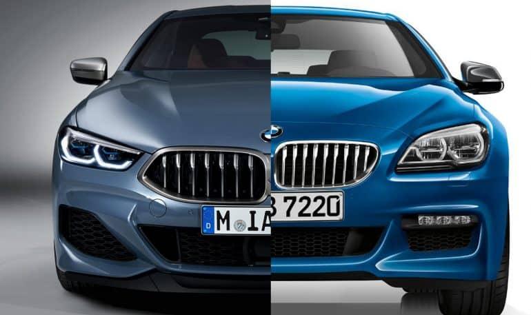 Comparativa visual: Juzga tú mismo cuánto se parecen el nuevo BMW Serie 8 y Serie 6