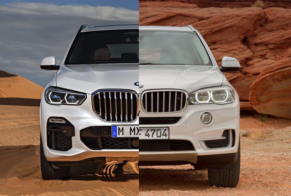 Comparativa visual: Juzga tú mismo cuánto ha cambiado el nuevo BMW X5