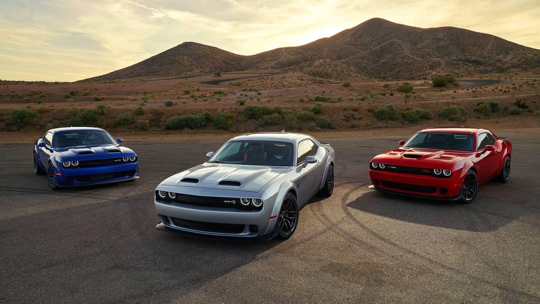 Dodge Challenger Hellcat Redeye Asi Sera El Sucesor Del Demon Con 796 Cv