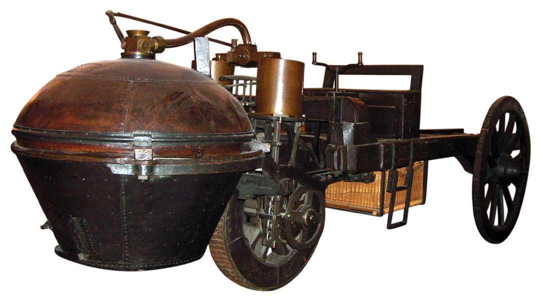 El Fardier de Nicolás-Joseph Cugnot fue el primer coche de la historia