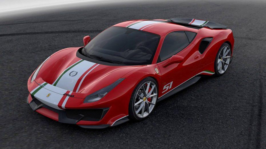 El Ferrari 488 Pista recibe su primera edición especial: Sólo apta para 'Piloti Ferrari'