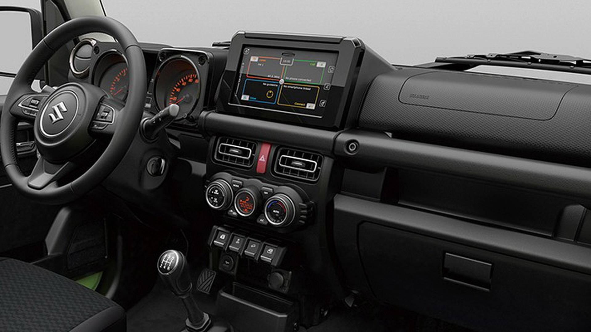Suzuki revela imágenes del nuevo Suzuki Jimny