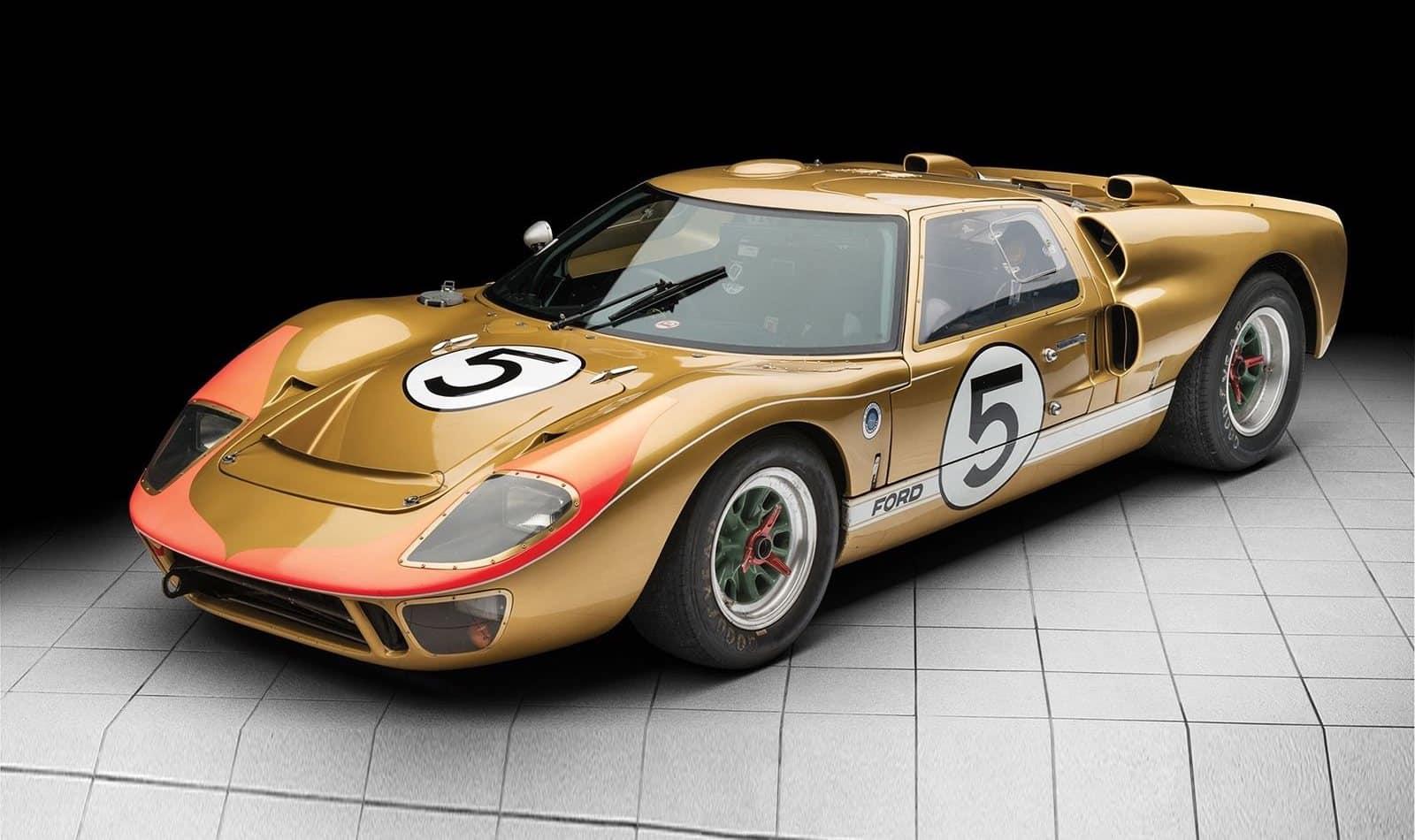A subasta este Ford GT40 ganador de las 24 Horas de Le Mans ¿Adivinas su precio?