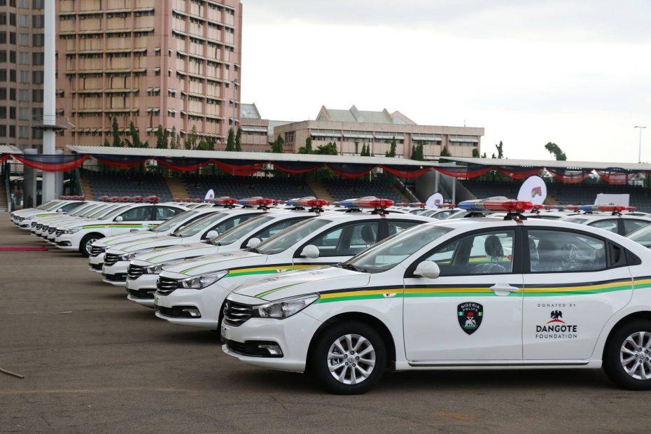 Las firmas chinas ponen sus ojos en África: Incluso la policía cuenta con ellos