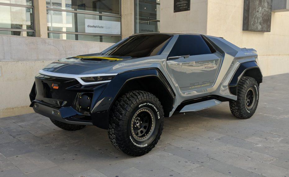 Este espectacular SUV se llama Golem, y es una creación de estudiantes españoles