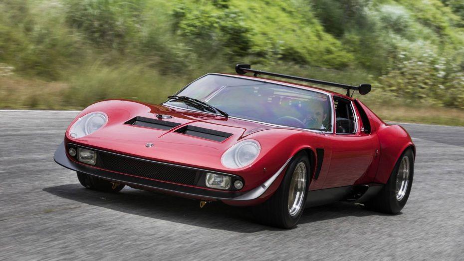 Este rarísimo Lamborghini Miura SVR acaba de ser restaurado y esconde una gran historia