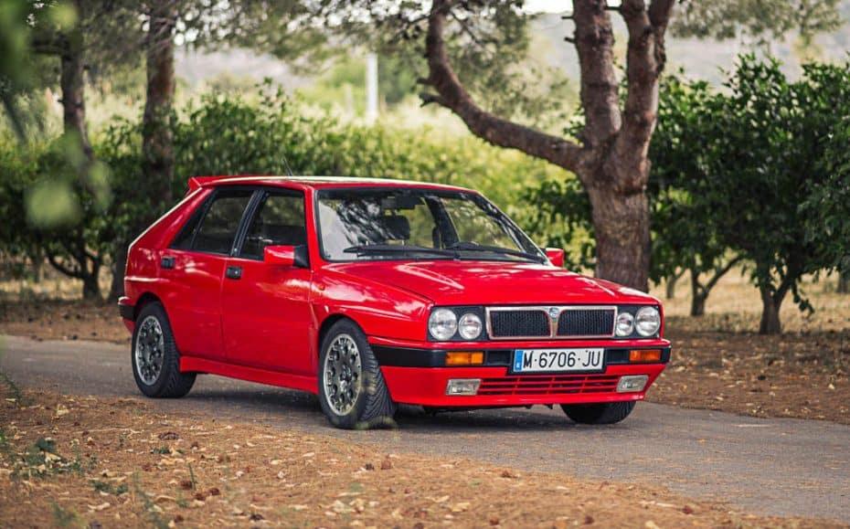 A subasta este Lancia Delta Integrale de 1989 ¡Un chollo a la venta en nuestro país!
