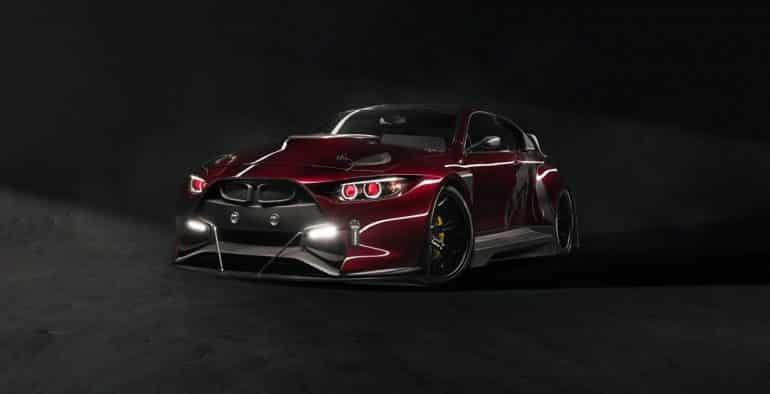 El Mamba GT3 Street ya es una realidad: Ojo a este salvaje BMW M4 de 750 CV