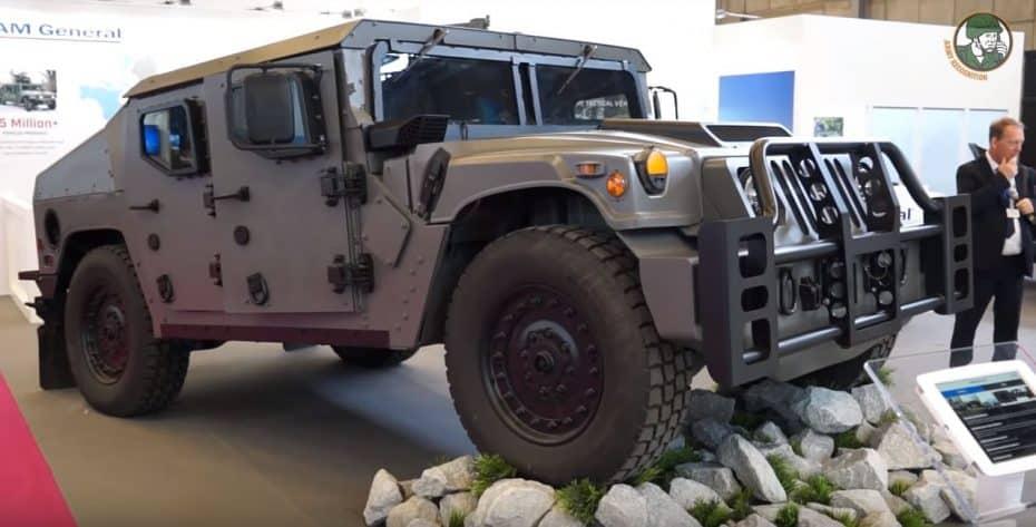 Así es el AM General NXT 360: Un Humvee mejorado en todo los sentidos