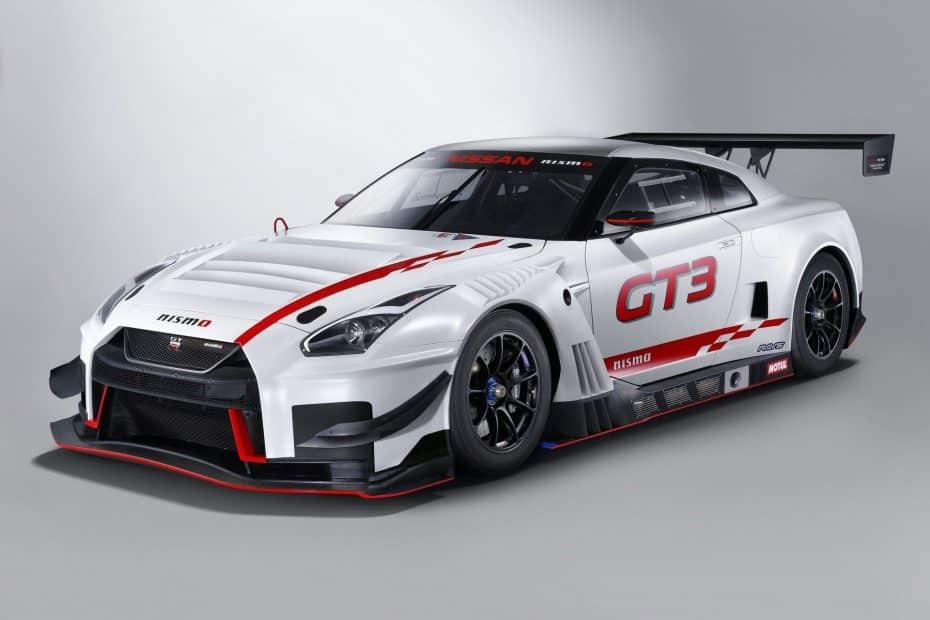 El Nissan GT-R NismoGT3 2018 ya está disponible, pero no saldrá precisamente barato…