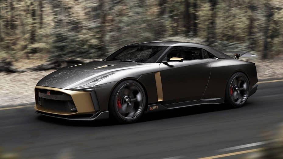 ¡De locura! Nissan GT-R50: Un regalo muy especial con 710 CV obra de Italdesign