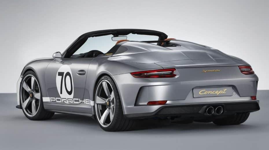 Así es el Porsche 911 Speedster Concept que podríamos ver el año que viene en la carretera