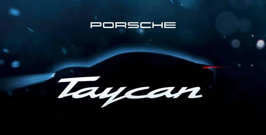El primer Porsche 100% eléctrico se llamará Taycan y lo conoceremos el año que viene