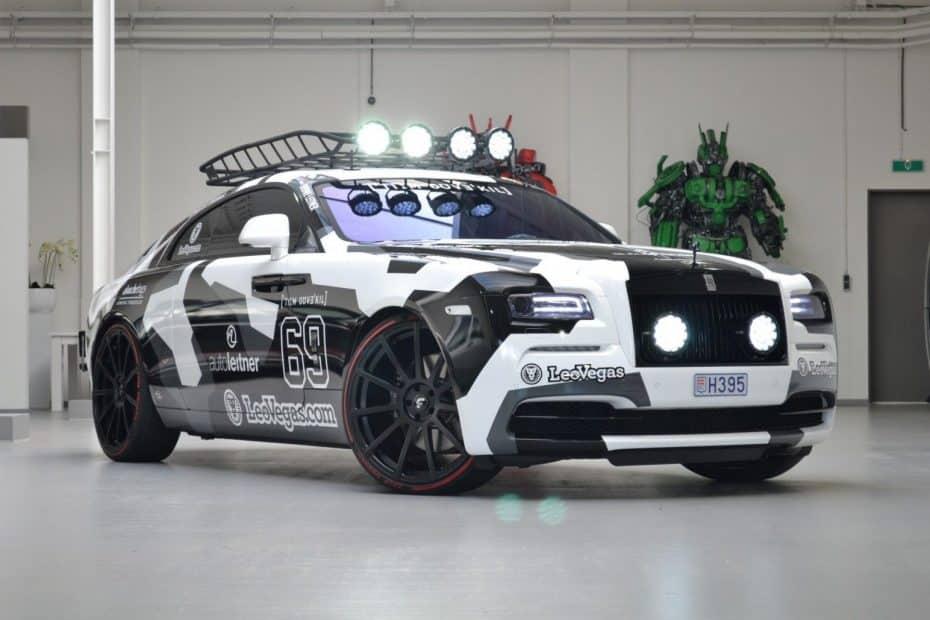 ¿Recuerdas el salvaje Rolls-Royce Wraith de Jon Olsson? Pues ahora puede ser tuyo
