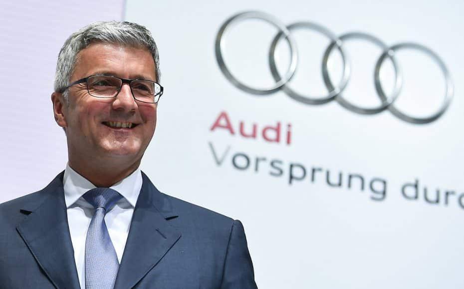 Rupert Stadler, CEO de Audi, en prisión preventiva por el escándalo de las emisiones