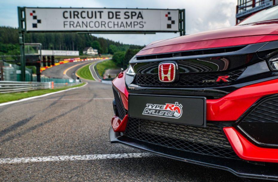 El Honda Civic Type R obtiene un nuevo récord en Spa-Francorchamps