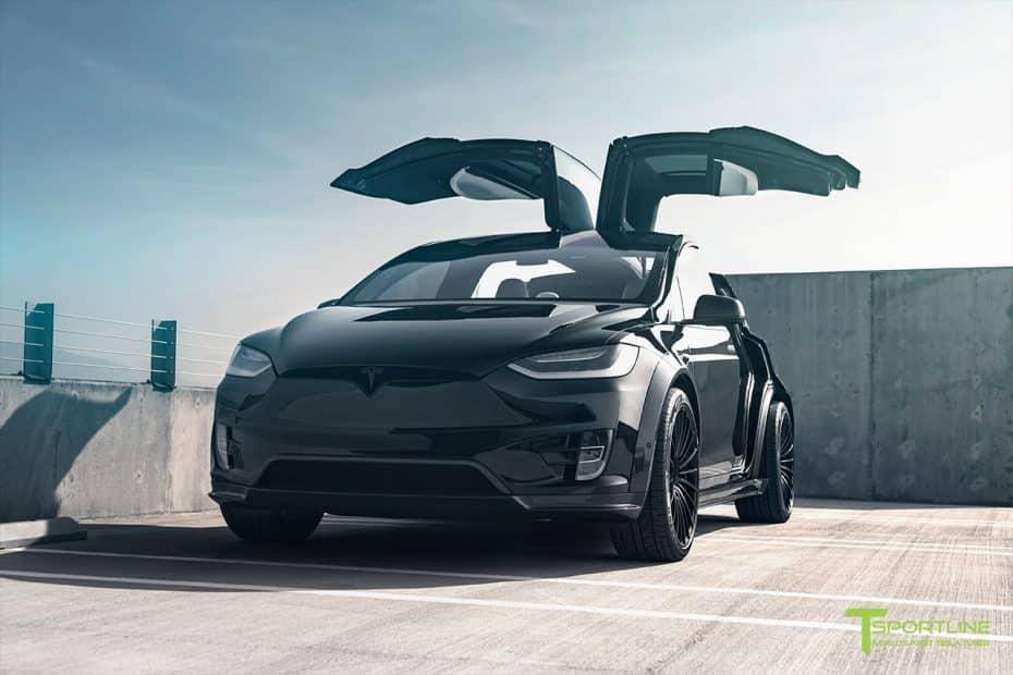 T Sportline se atreve con el Tesla Model X: Ahora más provocador y agresivo