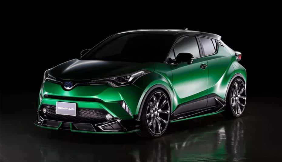 Wald International cree en un Toyota CH-R mucho más salvaje, al más puro estilo JDM