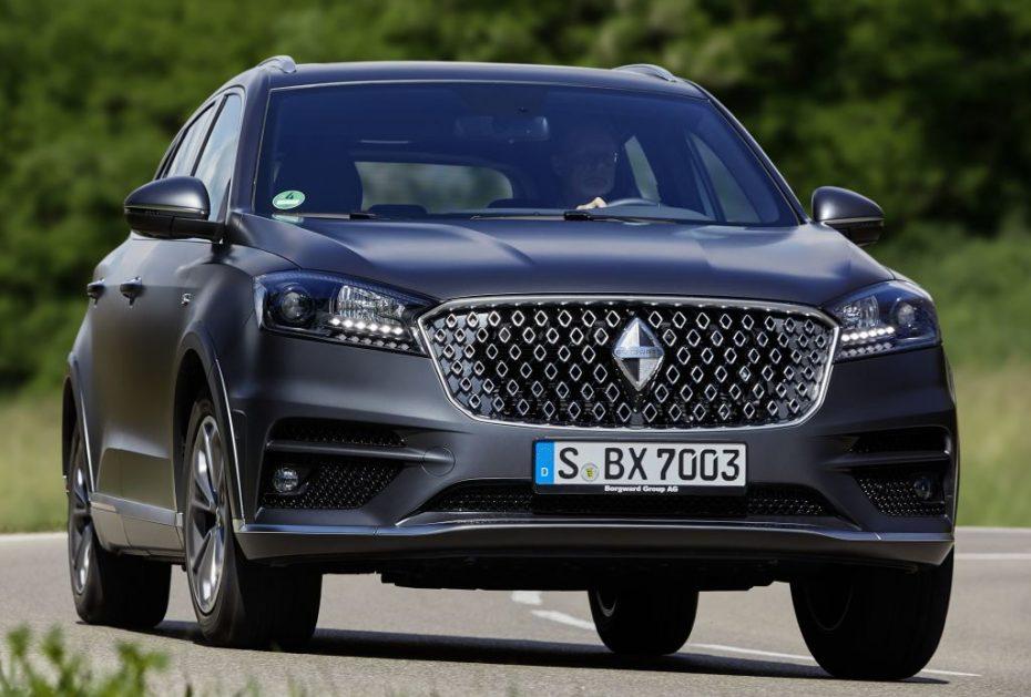 Borgward llega a Europa: Ya a la venta los primeros BX7