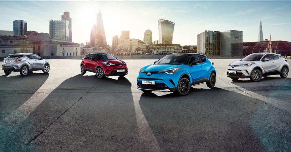 Ya a la venta la gama 2019 del Toyota C-HR