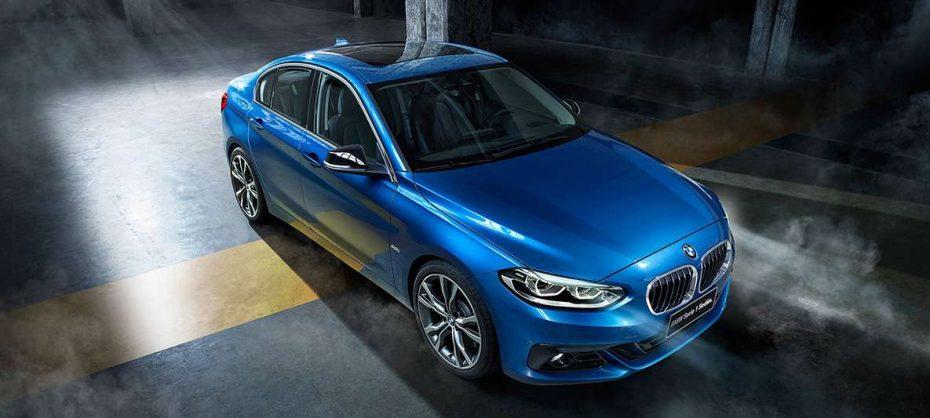 El BMW Serie 1 Sedán sale de China: Ya está en México