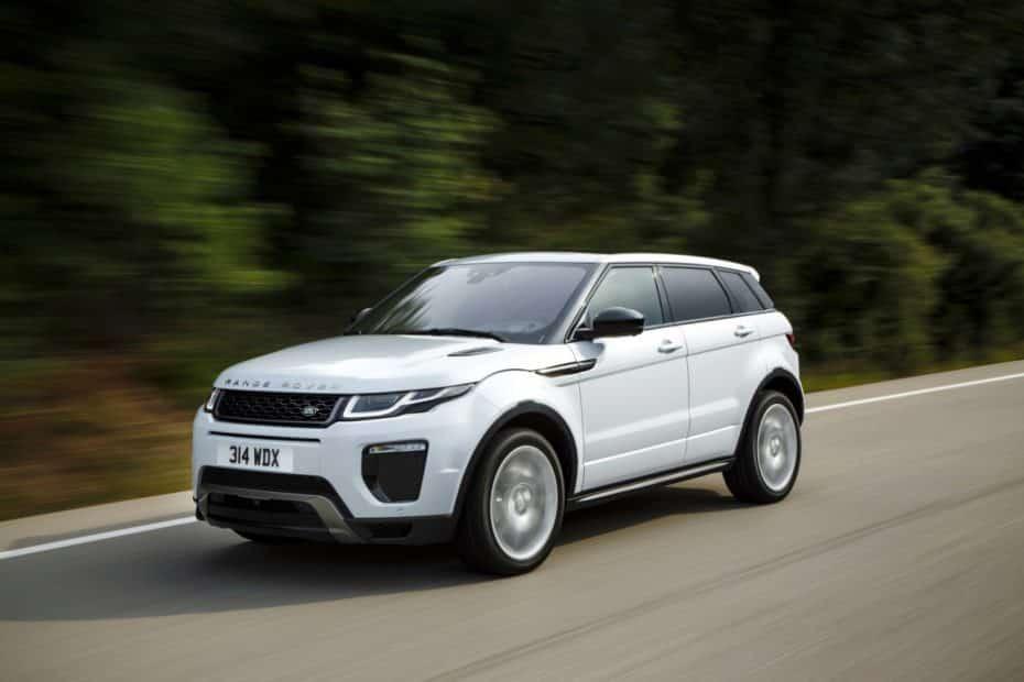Nueva gama Range Rover Evoque: Estrena motores