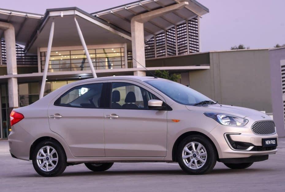 El Ford Figo se pone al día: Es la versión sedán del Ka+