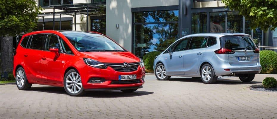 Los Opel Zafira y GTC dicen adiós