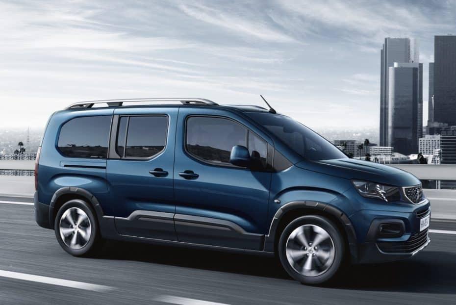 El Peugeot Rifter, ahora con carrocería alargada