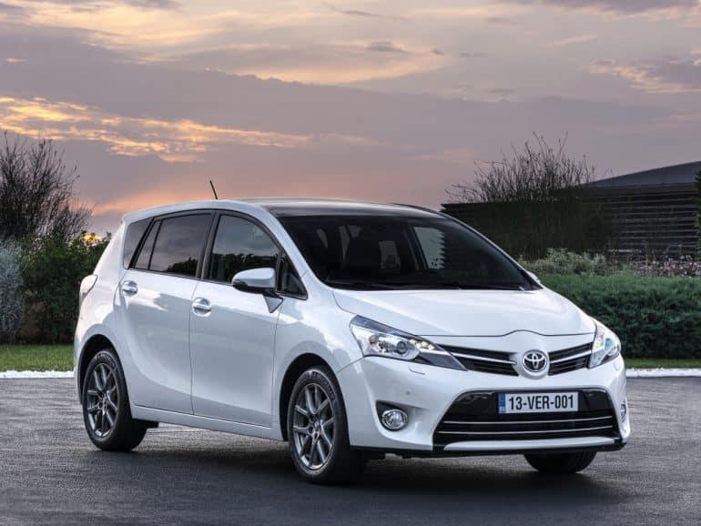 El Toyota Verso dice adiós al mercado español
