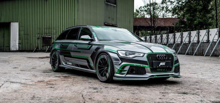 ABT Audi RS6-E: Roza el acelerador de este prototipo de 1.018 CV y se desatará el infierno