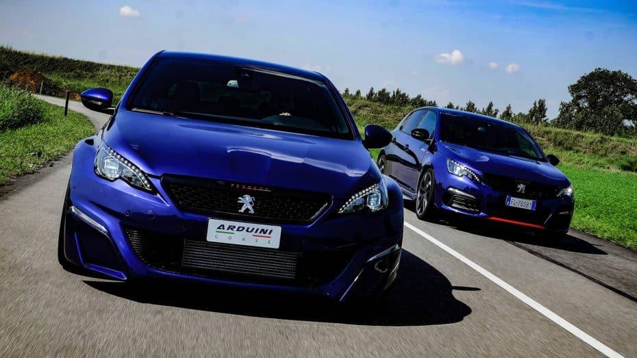 ¿Buscas un Peugeot 308 GTI más picante? Arduini ha creado este radical one-off