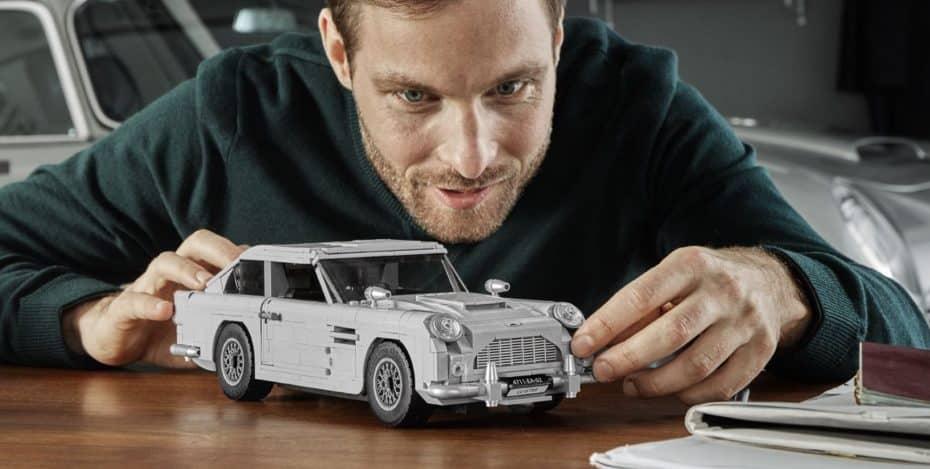 LEGO presenta el Aston Martin DB5 de 007 en un espectacular set de Creator Expert