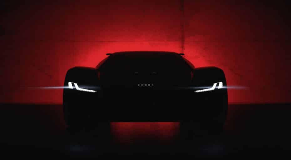 Audi PB 18 e-tron: El futuro de los deportivos de los cuatro aros verá la luz en Pebble Beach