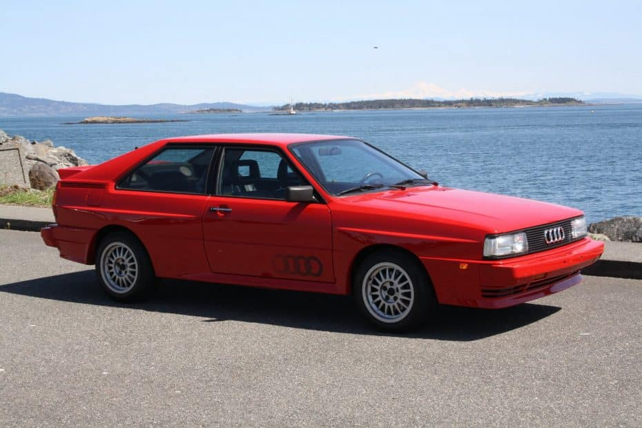 A subasta este impecable Audi Quattro de 1985, un deportivo icónico que es pura historia