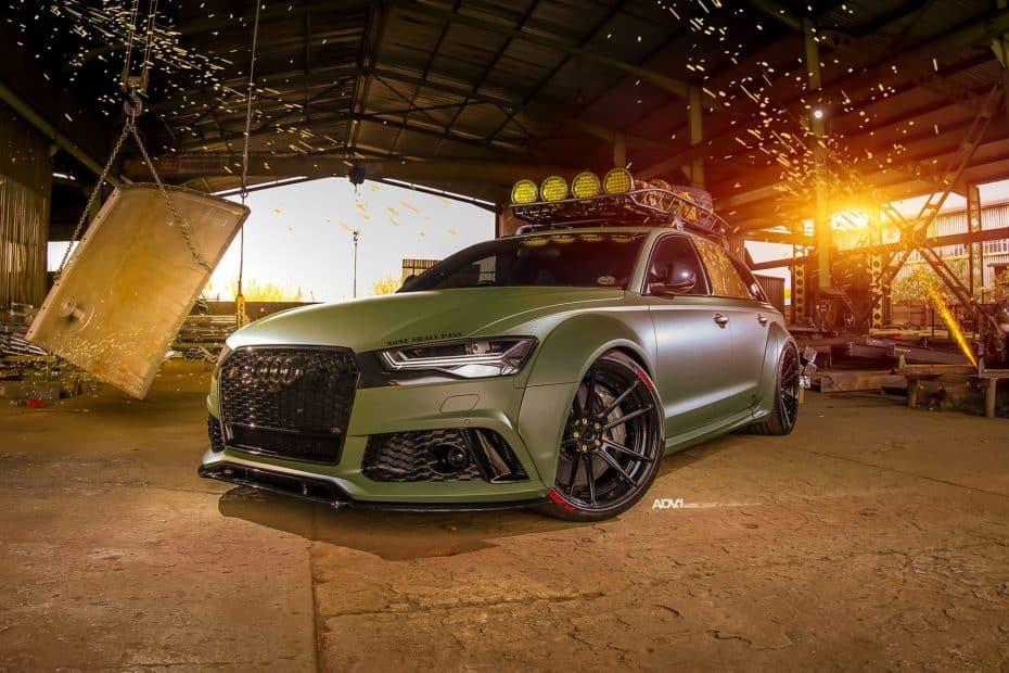Race! vuelve a sorprendernos, ahora con un Audi RS6 listo para un apocalipsis zombie