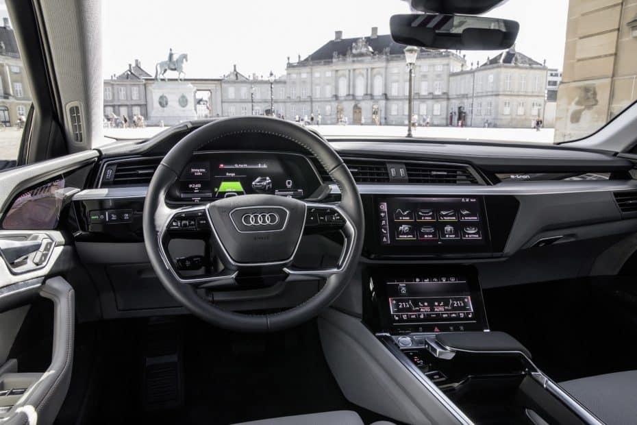 Así es el interior del Audi e-tron 2019: El habitáculo más tecnológico de la firma hasta la fecha