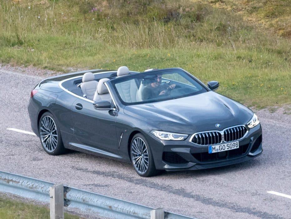 ¡Filtrado! El BMW Serie 8 Convertible se ha dejado ver antes de tiempo en esta sesión de fotos