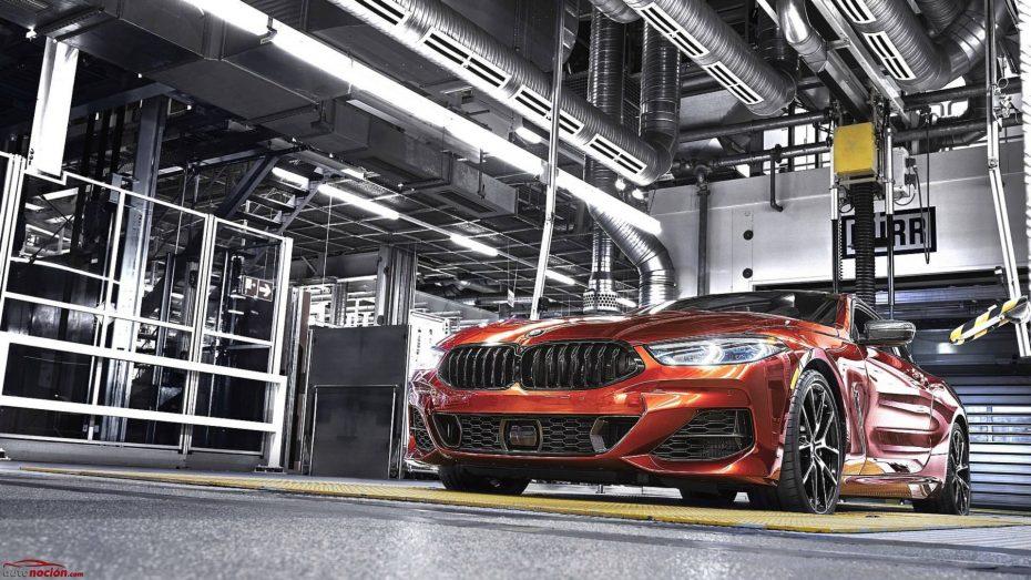 EL BMW Serie 8 inicia su producción: Seductor y poderoso incluso en la línea de montaje